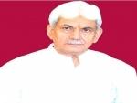 Jammu and Kashmir witnessing wave of positive change in last 18 months: LG Manoj Sinha