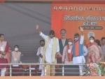 Mithun Chakraborty in Kolkata's Brigade Parade Ground, to share stage with PM Modi