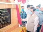 Sarbananda Sonowal lays foundation stone for Kashmiri Migrants transit camp