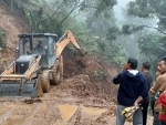 Assam Rifles assists in clearing a major landslide in Nagaland's Kiphire
