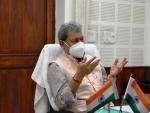 Uttarakhand CM Tirath Singh Rawat hands over resignation letter to BJP chief