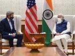 John Kerry meets PM Modi, Paris Agreement issue discussed