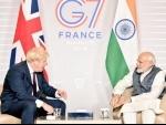 UK PM Johnson to visit India, discuss China threat