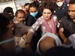 Priyanka Gandhi Vadra allowed to visit family of UP man who died in police custody