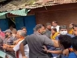 Ex- Bengal BJP chief Dilip Ghosh allegedly manhandled at Bhawanipur Assembly
