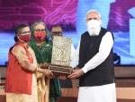 50th Bangladesh Independence Day: Modi hands over Gandhi Peace Prize 2020 for Bangabandhu Sheikh Mujibur Rahman to his daughters