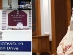 Prime Minister chairs review meeting on Covid-19 vaccination drive