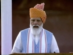 75th Independence Day: PM Modi sets goal to achieve '100%' development, resolves to make 'next 25 years glorious'