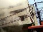 Kolkata: Fire breaks out in multi-storey, firefighting underway