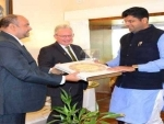 Dushyant Chautala discusses business relations with British Deputy High Commissioner
