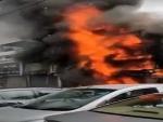 Delhi: Fire at Lajpat Nagar market; 32 fire tenders rushed to spot