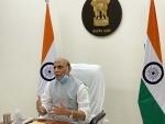 250 additional ICU beds at DRDO hospital in Delhi by Saturday evening: Rajnath Singh amid Covid spike