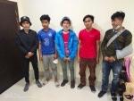 Five Myanmar nationals apprehended by police along Assam-Mizoram border