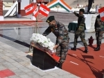 Army pays tribute to soldiers killed in India-China Galwan valley clash