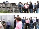 Jammu and Kashmir: DC Srinagar inspects under construction Noor Jehan Bridge at Qamarwari