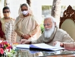 Narendra Modi-Sheikh Hasina hold talks focusing on Covid-19 cooperation, trade, connectivity