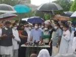 Opposition 'unites' against Modi govt on Pegasus, Rahul trades 'anti-national' charge against Centre