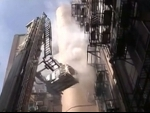 Fire breaks out at commercial building in Kolkata's Park Street, 10 fire tenders at scene