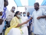 Bengal: Mamata meets family members of people killed in Cooch Behar shooting