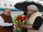 Amit Shah in Kashmir first time after revocation of Article 370