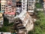 Multi-storey building collapses in Shimla due to landslide, no casualties reported