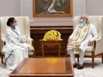 Mamata Banerjee meets PM Narendra Modi