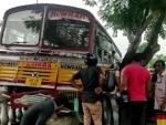 Kolkata: One dead, 12 injured as minibus rams into bike, roadside wall near Fort Willam