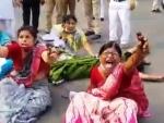 Kolkata: 5 women teachers protesting against 'punishment transfer' attempt suicide outside Bikash Bhavan