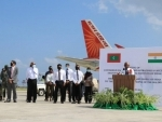 Maldives thanks India for sending a consignment of 100,000 doses of Covershield