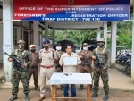 NSCN-K cadre surrenders in Arunachal Pradesh, security forces apprehend 7 persons with three trucks of illegal areca nuts in Kohima