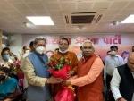 Pushkar Singh Dhami elected as Uttarakhand CM