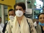 Priyanka Gandhi Vadra detained in Sitapur, authorities ban entry of politicians in Lakhimpur