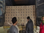 1100 cases of Arunachal-made IMFL seized from a WB bound truck