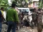 Jharkhand policemen thrash army jawan for not wearing mask