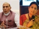 Rajnath Singh, Smriti Irani to start poll campaign in Assam from Saturday