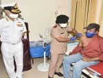 Covid-19: Vaccination starts for Indian Navy at Visakhapatnam