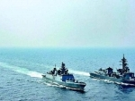Indian, Thai navies conduct coordinated patrol exercises