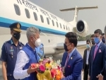 S Jaishankar arrives in Bangladesh