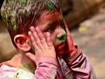 UP: Festival of Holi celebrated amid Covid-19 precautions