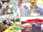 Jammu and Kashmir: Market checking in Kupwara