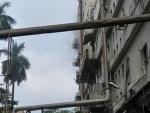 Fire on fifth floor of Apeejay House in Kolkata's Park Street, no casualties