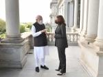 Narendra Modi meets Kamala Harris, discusses Afghanistan issue