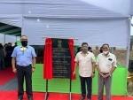 Meghalaya CM inaugurates facilitation centre at Mendipathar railway station