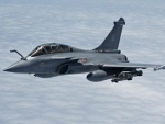 Three more Rafale fighter jets arrive in India from France's Bordeaux–Mérignac airbase