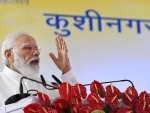 Boost to aviation sector will generate tourism, trade and employment : Modi inaugurating Kushinagar Airport