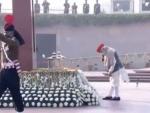PM Narendra Modi pays homage at National War Memorial ahead of R-Day parade