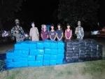 Assam Rifles apprehend five people, recover Marijuana worth Rs 4 crore in Nagaland
