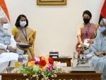 Narendra Modi meets Sheikh Hasina on second day of his Bangladesh trip