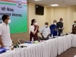 CWC meeting underway, top Congress leaders attend