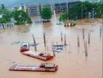 Heavy rains batter Maharashtra's Konkan, around 6000 train passengers stranded; army, navy join rescue ops